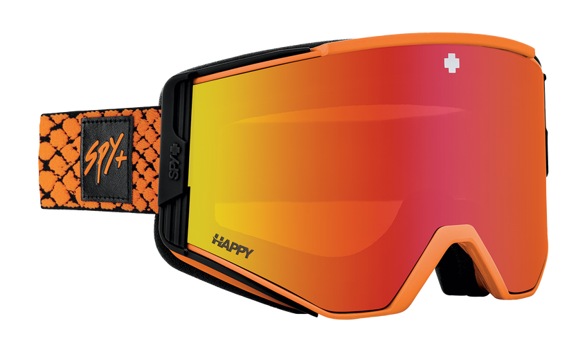 Ace Snow Goggle - Viper Orange/Happy LL Gray Green with Red Spectra Mirror