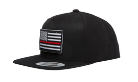 Thin Red Line Flag Classic Snapback, , hi-res