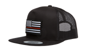 Thin Red Line Flag Trucker Hat, , hi-res