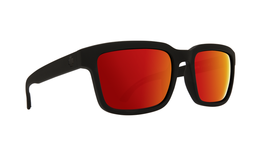 HELM 2 SOFT MATTE BLACK-HAPPY GRAY GREEN W/RED SPECTRA