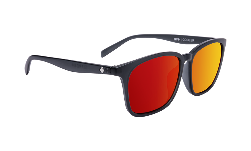 Cooler - Matte Translucent Gray/Gray with Coral Mirror