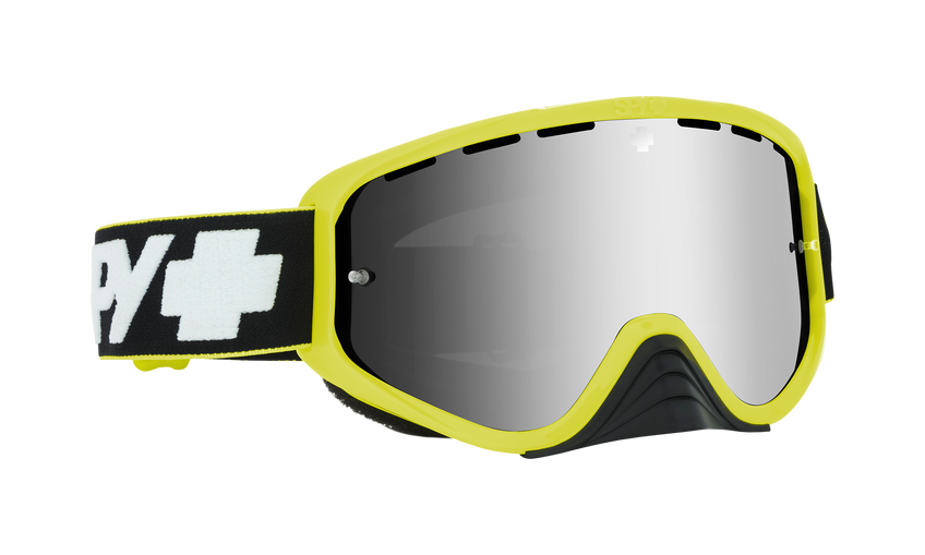 Woot Race Mx Goggle - Slice Green/Smoke w/ Silver Spectra + Clear AFP