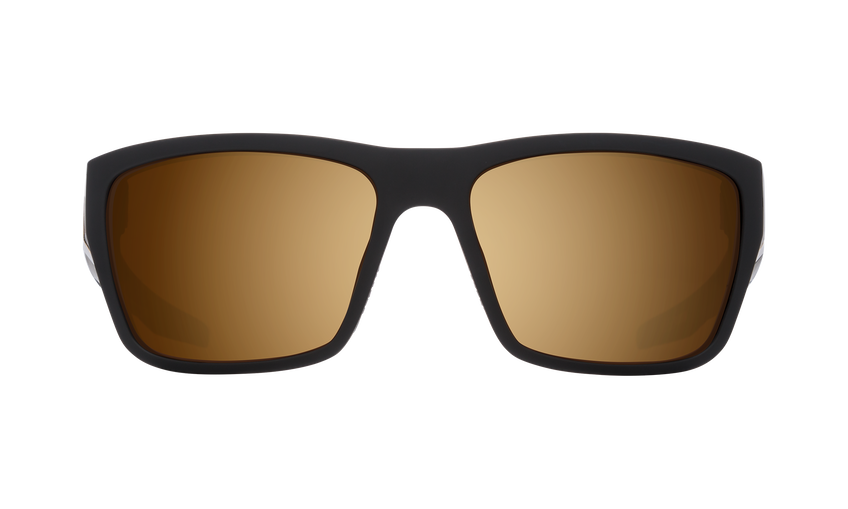 Dirty Mo 2 - 25th Anniversary Matte Black Gold/HD Plus Bronze with Gold Spectra Mirror
