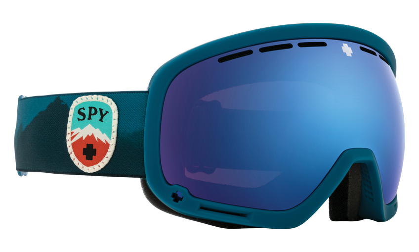 Marshall Snow Goggle - Trailblazer Blue/HD Plus Rose with Dark Blue Spectra Mirror + HD Plus LL Gray Green with Red Spectra Mirror