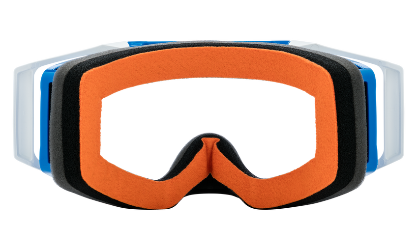 Foundation Mx Goggle - Checkers Blue/HD Clear