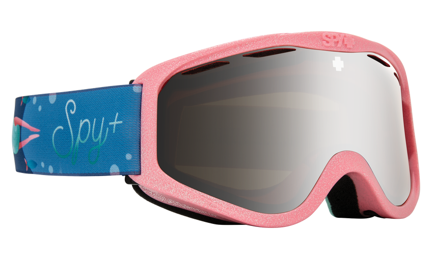 Cadet Snow Goggle - Mermaid/HD Bronze with Silver Spectra Mirror