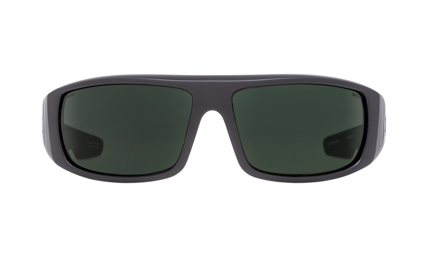 Logan - Matte Black ANSI Rx/Happy Gray Green