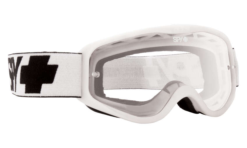 Cadet Mx Goggle - White/Clear AFP