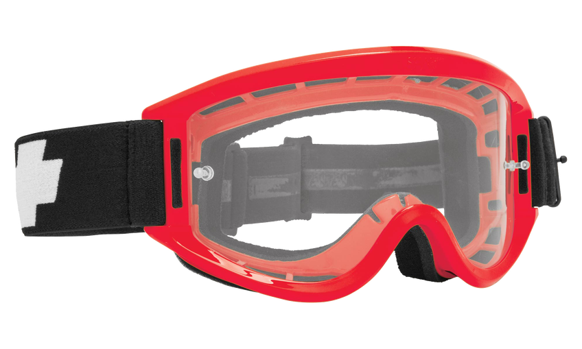 Breakaway Mx Goggle - Red/Clear AFP