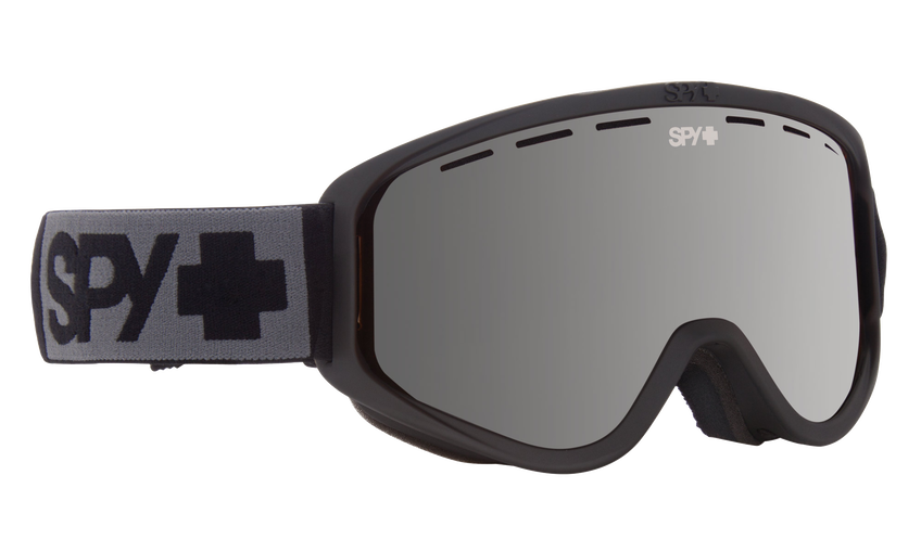 Woot Snow Goggle - Matte Black/Bronze with Silver Spectra (VLT:12%) + Persimmon (VLT:53%)