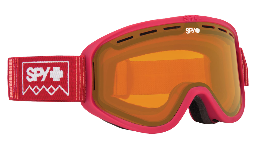 Woot Snow Goggle - Deep Winter Blush/Persimmon