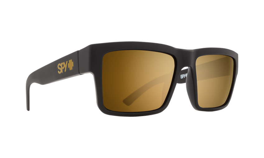 Montana Soft Matte Black - HD Plus Bronze with Gold Spectra