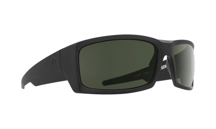 General Matte Black Ansi Rx-HD Plus Gray Green Polar