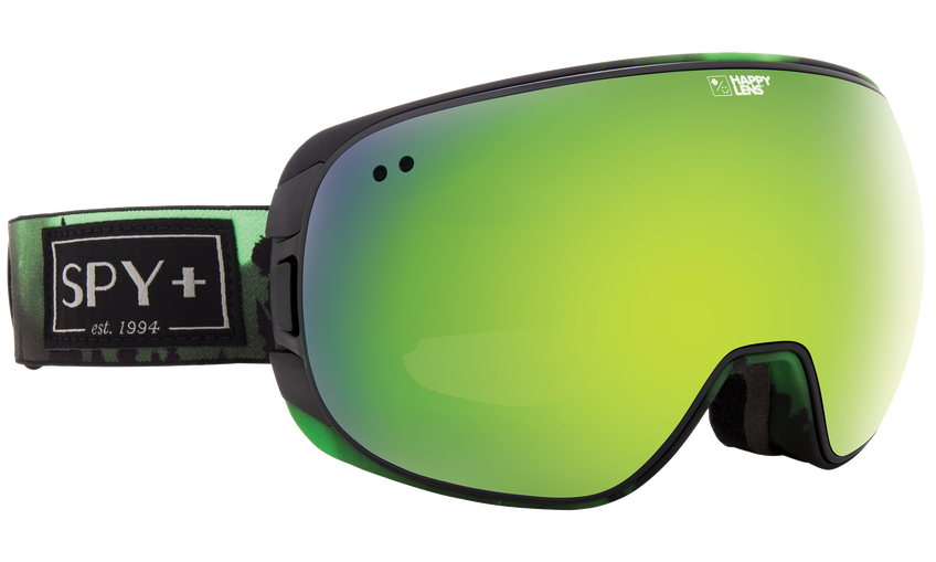 Doom Snow Goggle - Aurora Green/Happy Bronze with Green Spectra + Happy Persimmon with Lucid Silver