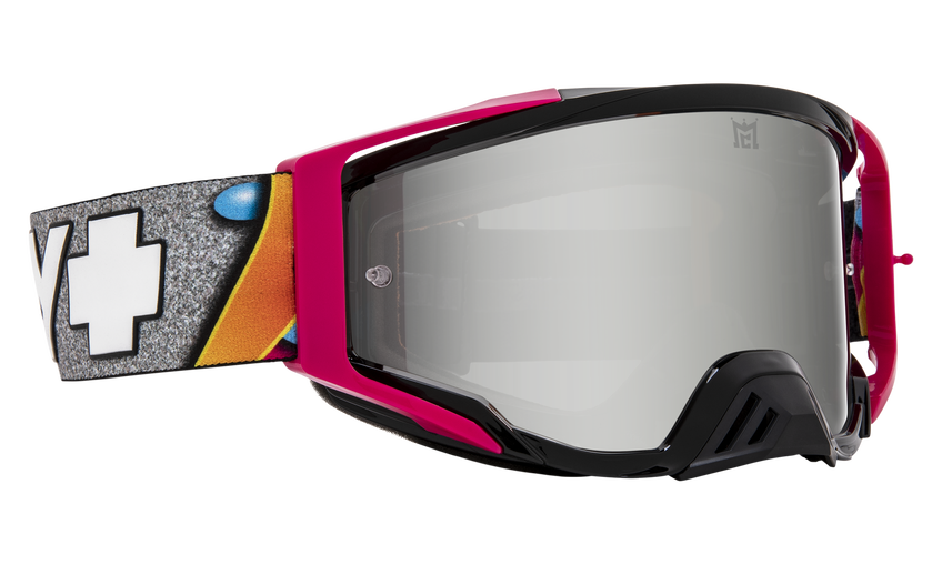 Foundation Mx Goggle - SPY + Jeremy McGrath + KAB/HD Smoke with Silver Spectra Mirror + HD Clear