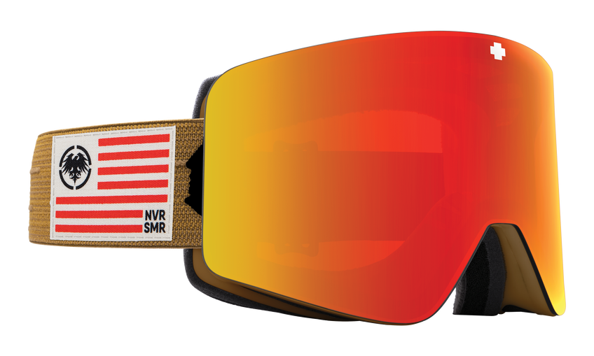 Marauder Snow Goggle - Never Summer/HD Plus Bronze with Red Spectra Mirror + HD Plus LL Yellow with Green Spectra Mirror