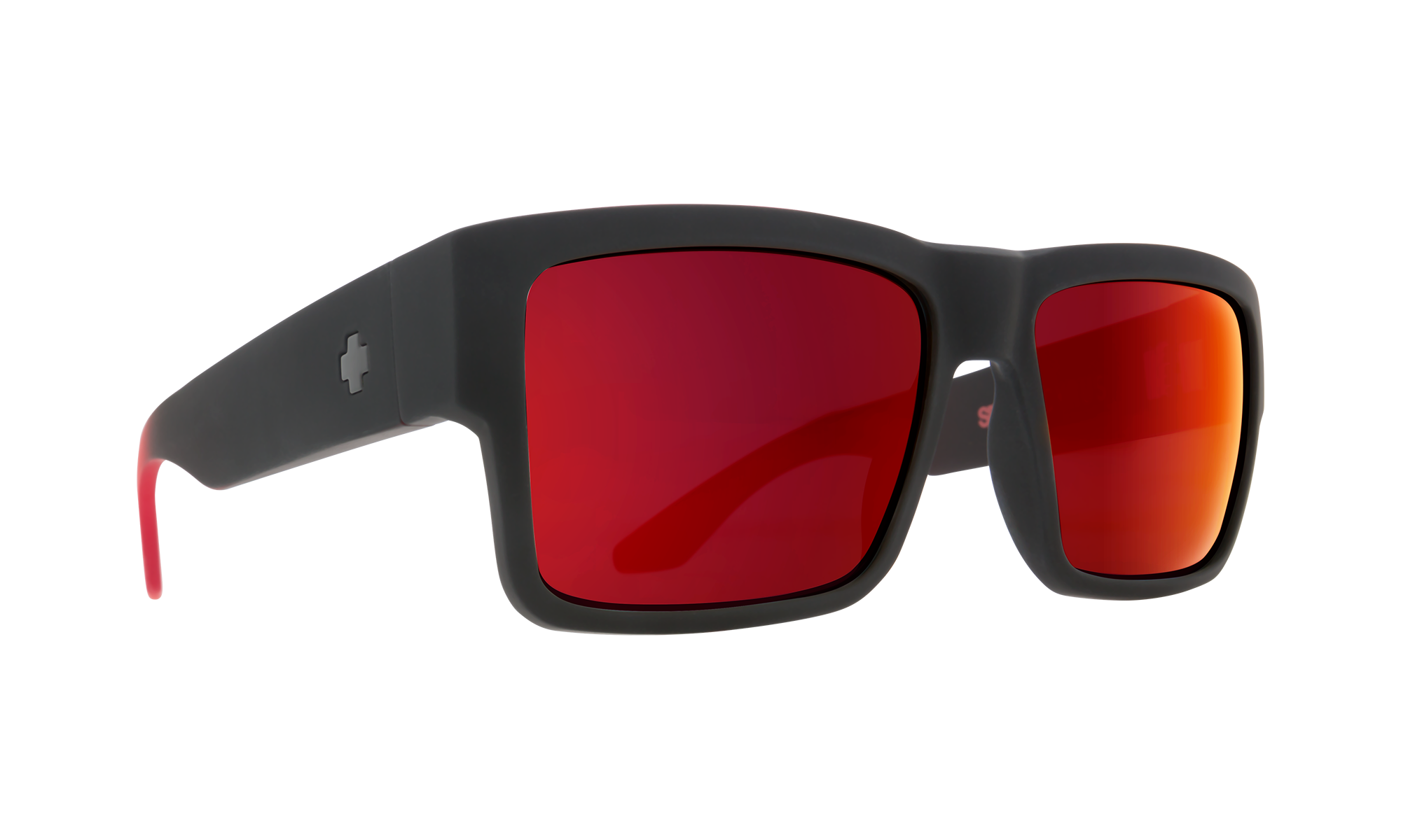 itemDesc Cyrus Soft Matte Black Red Fade - HD Plus Gray Green with Red Light Spectra Mirror is not available for this combination