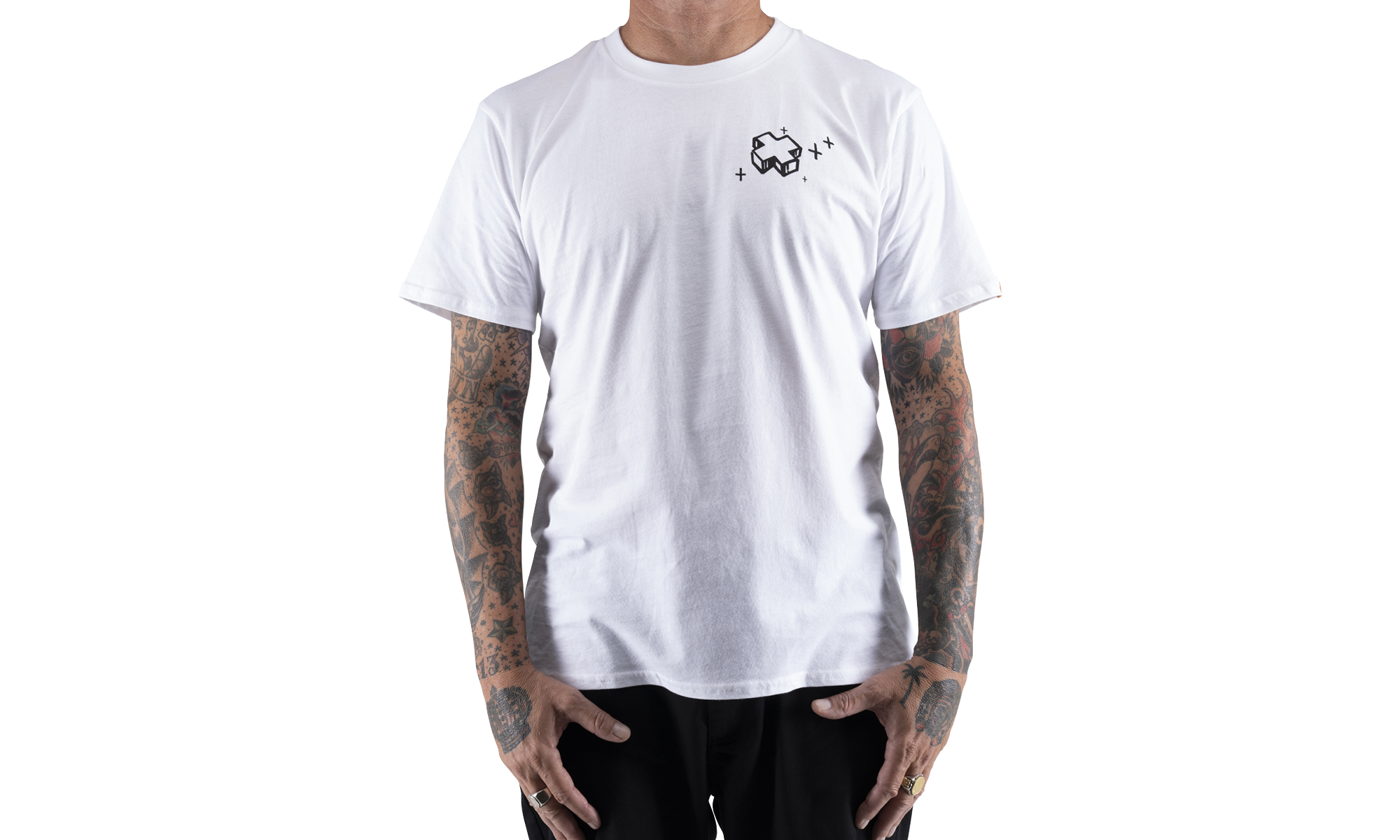 Good Fortune Tee, White, hi-res