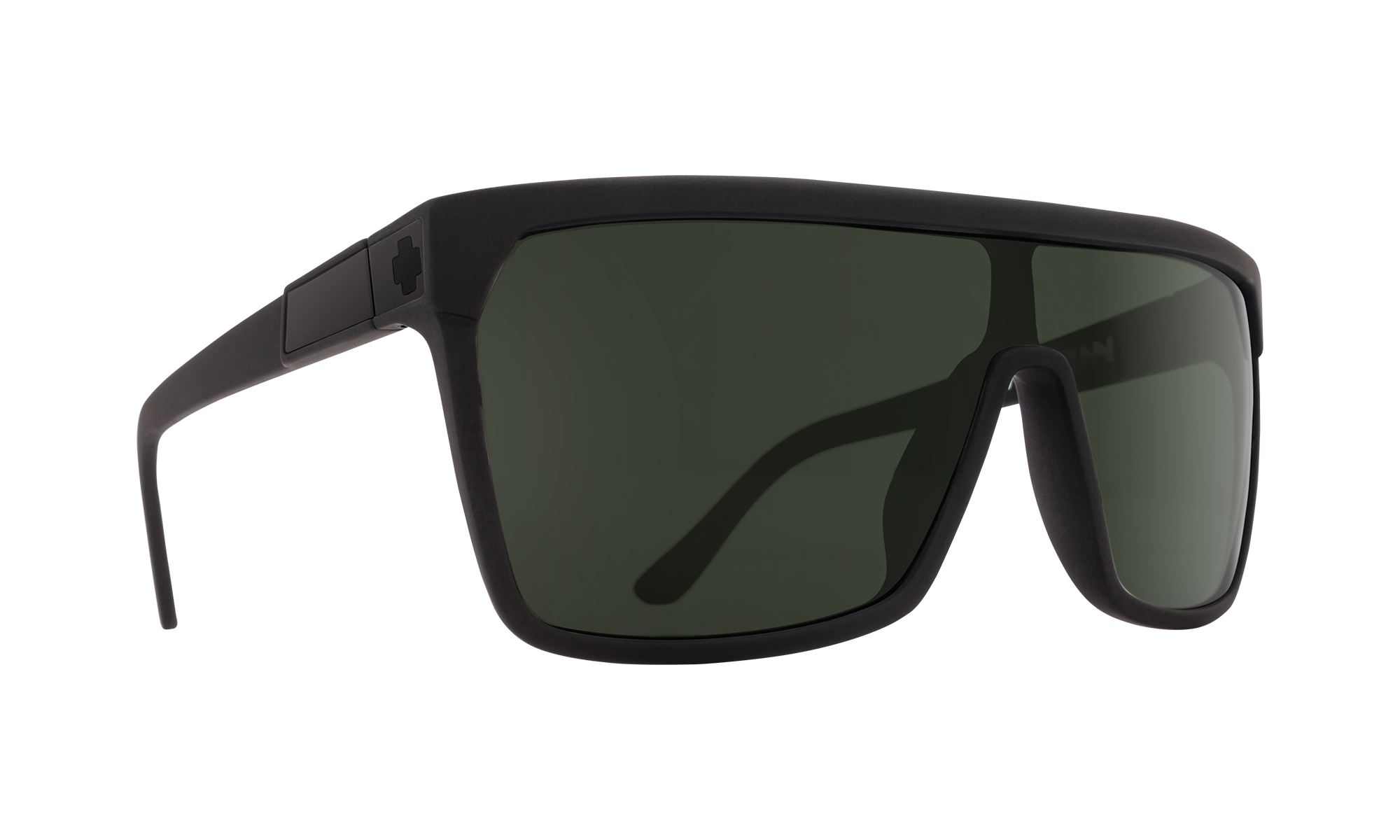 Flynn Soft Matte Black - HD Plus Gray Green