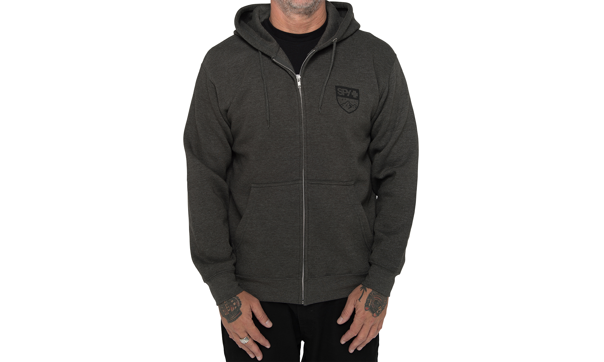 Alpine Badge Zip-Up Sweatshirt, , hi-res