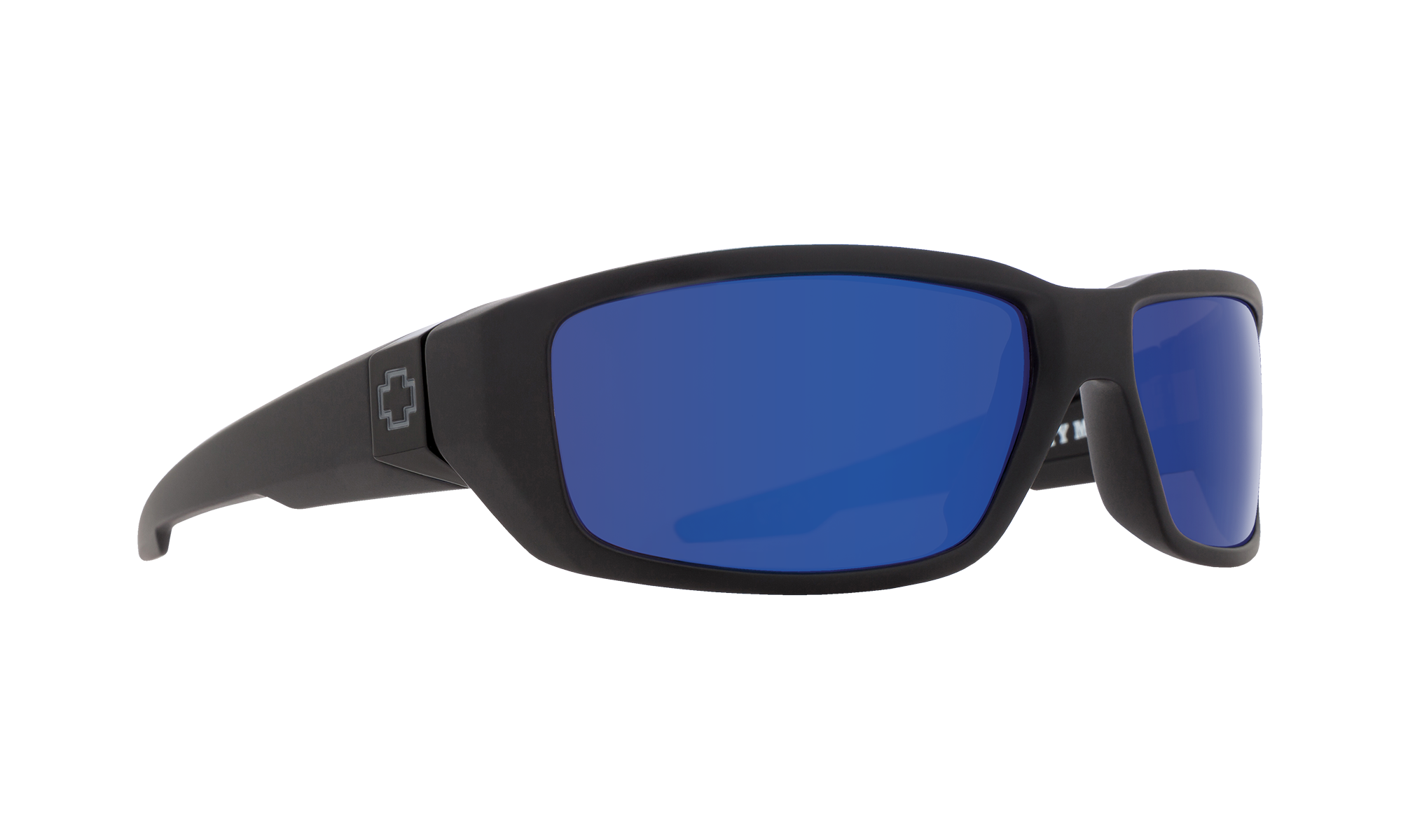 Dirty Mo Soft Matte Black - HD Plus Dark Gray Green Polar with Dark Blue Spectra Mirror