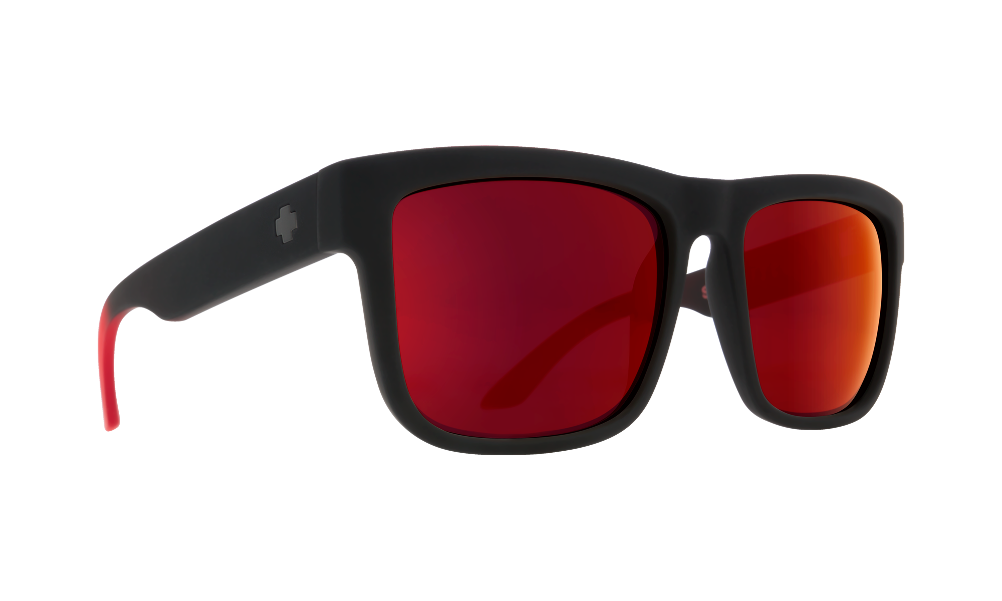 itemDesc Discord Soft Matte Black Red Fade - HD Plus Gray Green with Red Light Spectra Mirror is not available for this combination